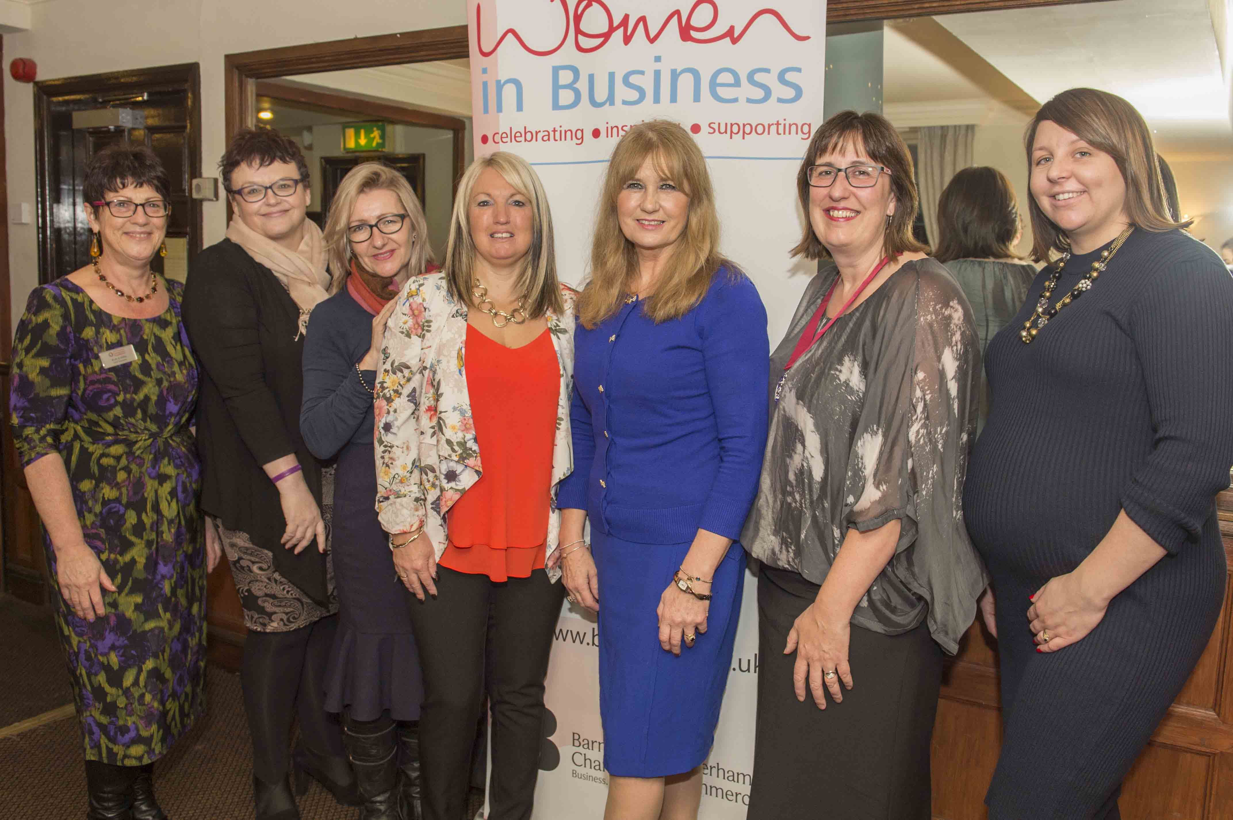 Women In Business lunch at Whitley Hall Hotel in Sheffield